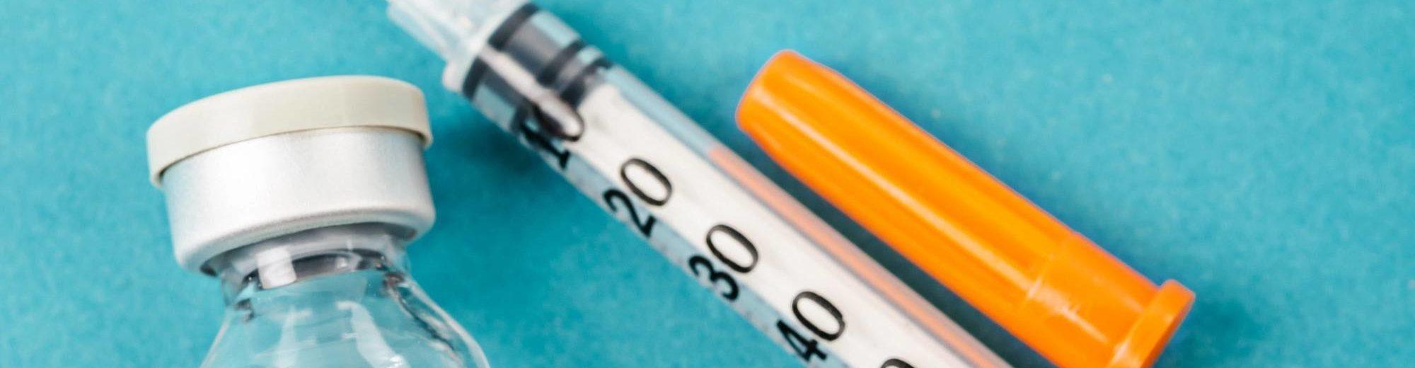 Hepatitis B HBV vaccine with syringe - Infectious Disease Trials | Amarex