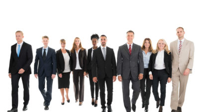 Confident Business Team in a Walking Pose - Careers and Job Opportunities | Amarex