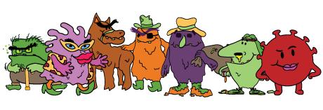 Villains grouped cora added
